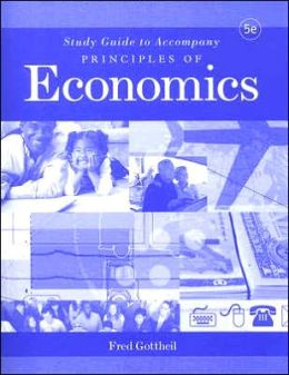 Study Guide to accompany Principles of Economics