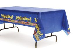 Vacation Bible School 2013 Everywhere Fun Fair Tablecloth VBS: Dare to go Deep with God!