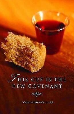 This Cup Communion Bulletin, Regular Size (Package of 50)