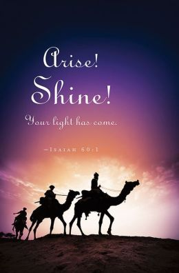 Arise!/Epiphany Bulletin 2013, Regular Size (Package of 50)