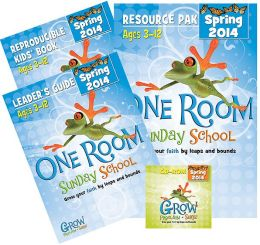 One Room Sunday School Kit Spring 2014: Grow Your Faith by Leaps and Bounds