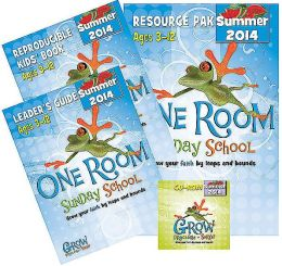 One Room Sunday School Kit Summer 2014: Grow Your Faith by Leaps and Bounds