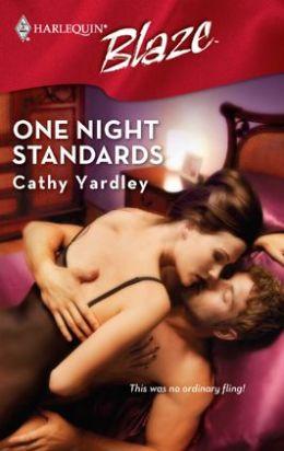 One Night Standards (Harlequin Blaze #332)