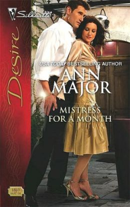 Mistress for a Month (Silhouette Desire Series #1869)