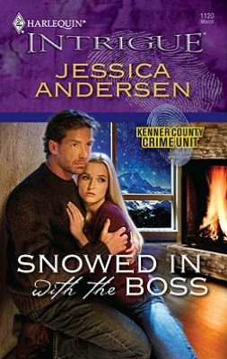 Snowed in with the Boss (Harlequin Intrigue Series #1120)
