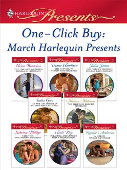 One-Click Buy: March 2009 Harlequin Presents