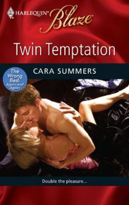 Twin Temptation (Harlequin Blaze Series #474)