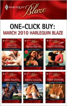 One-Click Buy: March 2010 Harlequin Blaze