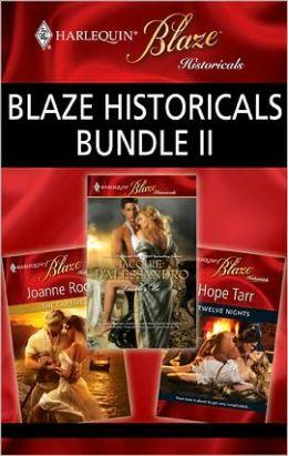 Blaze Historicals Bundle II: Touch Me\Twelve Nights\The Captive