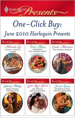 One-Click Buy: June 2010 Harlequin Presents