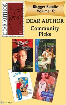 Blogger Bundle Volume IX: Dear Author Community Picks