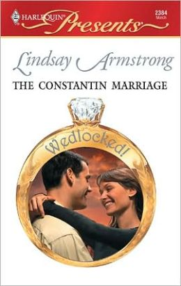 The Constantin Marriage (Harlequin Presents #2384)