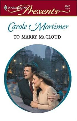 To Marry McCloud (Bachelor Cousins Series)