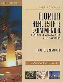 Florida Real Estate Exam Manual: For Sales Associates & Brokers