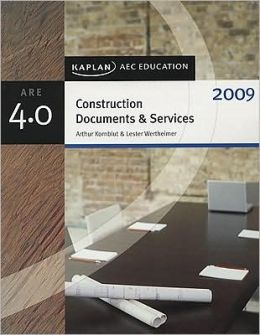 Construction Documents & Services 2009