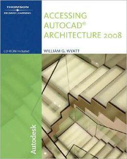 Accessing AutoCAD Architecture 2008
