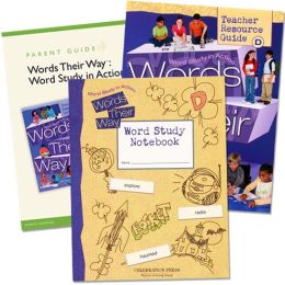 Words Their Way: Word Study In Action Home School Bundle Grade 4 2005C