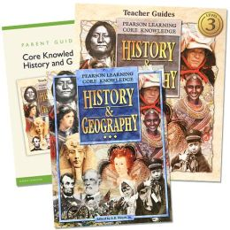 Core Knowledge History and Geography - 3rd Grade Homeschool Bundle