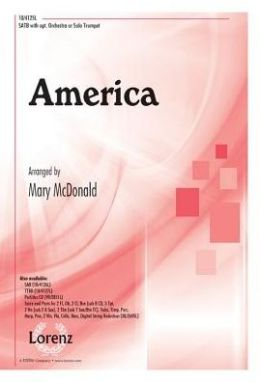 America: SATB with Opt. Orchestra or Solo Trumpet