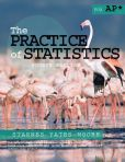Book Cover Image. Title: The Practice of Statistics for AP, Author: Daren S. Starnes