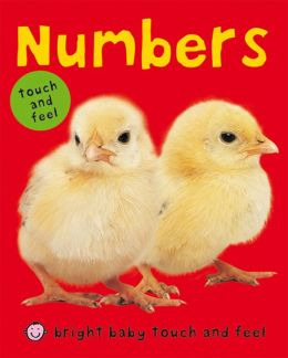 Numbers (Bright Baby Touch and Feel Series)