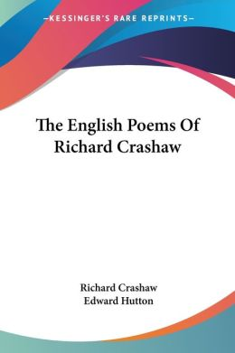 English Poems of Richard Crashaw
