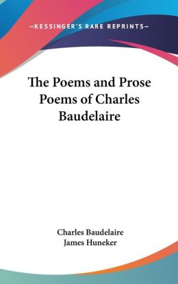 Poems and Prose Poems of Charles Baudelaire