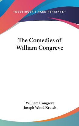 Comedies of William Congreve