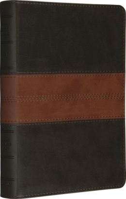 ESV Personal Sized Reference Bible Forest/Tan Trail Design