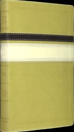 Esv Thinline Bible Trutone Springgreen Horizon Design