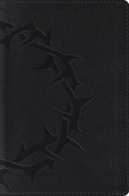 Deluxe Compact Bible-ESV-Crown Design