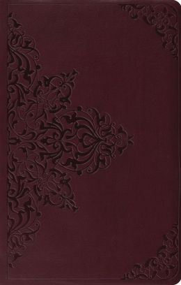 Value Thinline Bible-ESV-Filigree