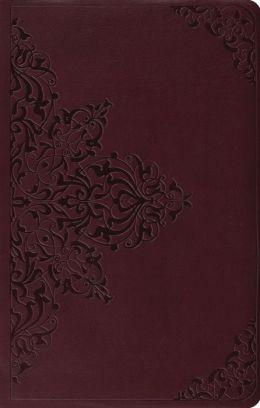 Value Thinline Bible-ESV-Filigree