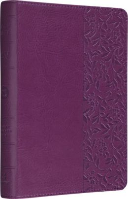 ESV Bible Personal Size Reference Wildflower Design