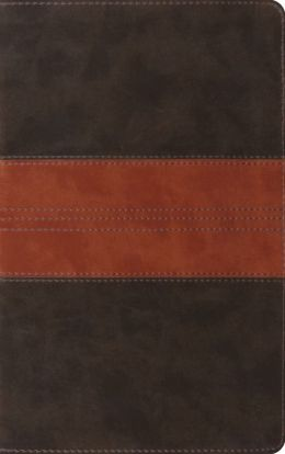 ESV Thinline Bible, Forest/Tan Trail Design