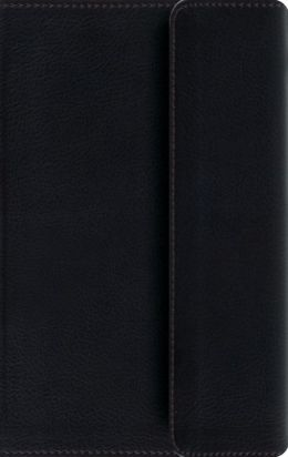 ESV Large Print Compact Bible ( with Snap, Black)