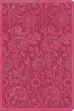 ESV Personal Reference Bible (TruTone, Berry, Floral Design)