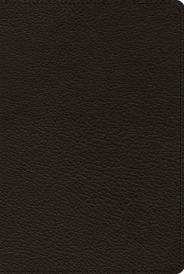 ESV Omega Thinline Reference Bible: 75th Anniversary Edition (Goatskin, Black): 75th Anniversary Edition