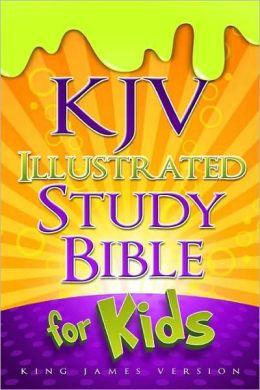 KJV Illustrated Study Bible for Kids, Hardcover
