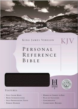 KJV Personal Reference Bible, White Bonded Leather