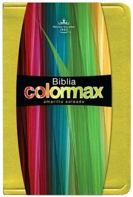 RVR 1960 Biblia Colormax, amarillo soleado imitacion piel
