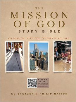 The Mission of God Study Bible, Brown/Cream/Taupe Simulated Leather