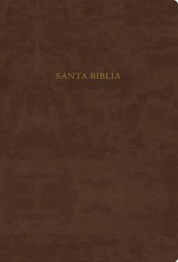 RVR 1960 Biblia de Estudio Scofield, chocolate imitacion piel