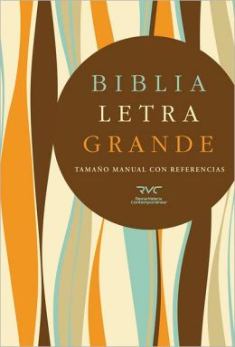 RVC Biblia Letra Grande Tamano Manual, tapa dura