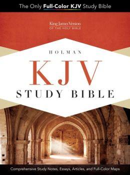 KJV Study Bible, Black Genuine Cowhide