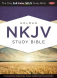Book Cover Image. Title: Holman Study Bible:  NKJV Edition, Jacketed Hardcover, Author: Jeremy Royal Howard