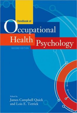Handbook of Occupational Health Psychology