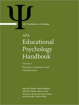 APA Educational Psychology Handbook 3 Volume Set