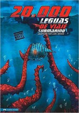 20,000 Leguas de Viaje Submarino (Graphic Revolve Series)
