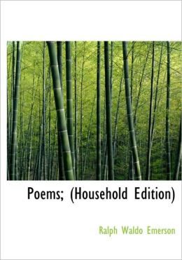 Poems; (Household Edition) (Large Print Edition)